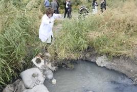 Մասիսում գյուղացիները կոտրել են կոյուղին՝ դաշտերը ոռոգելու նպատակով