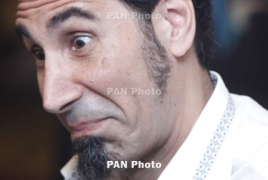 Serj Tankian says good to be back in Armenia
