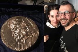 Armenian designer Nur takes prestigious Florence Biennale gold