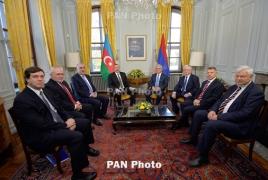 Armenian, Azerbaijani presidents finally meet on Karabakh