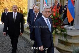 Саргсян после встречи с Алиевым: Единственное решение - это Карабах вне Азербайджана