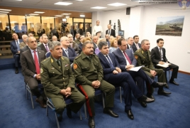 Modern Armenian military solutions unveiled to lawmakers