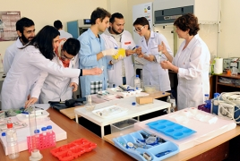 Armenian doctors will start growing human skin from stem cells