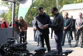 E-bike station launches in major Armenian tourist site