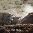Azerbaijan fires a Spike missile towards Karabakh positions
