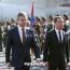 Russia's Medvedev arrives in Armenia