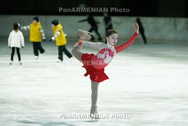 Armenian figure skaters participating in several int'l tournaments