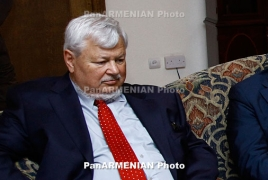 OSCE envoy, top Karabakh officials talk conflict settlement