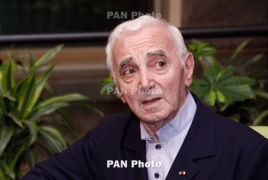Why Israel won't recognize Armenian Genocide, Aznavour asks Rivlin