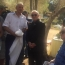 Olive tree planted in Israel in honor of Charles Aznavour
