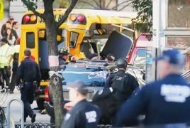 Теракт в Нью-Йорке: 8 человек погибли