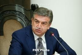 Business environment has improved in Armenia, PM Karapetyan says