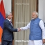 President in Delhi: Armenia wants to expand ties with India