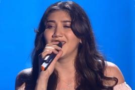 Անահիտ Պողոսյանը ռուսական «Ձայն»-ում հայկական երգ է կատարել