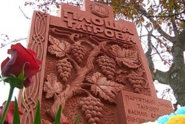 Memorial to Armenian viticulturist opens in Odessa