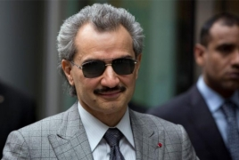 Billionaire Saudi prince with Armenian roots among the arrested: report