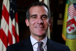 Los Angeles mayor planning to visit Armenia, Karabakh