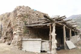 Armenian church in Turkey now serves as a stable