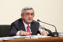 Armenia's four million population target a realistic task: President