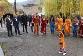 Project for creating an eco-village network in Armenia continues