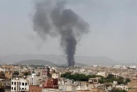 Коалиция во главе с Саудовской Аравией нанесла авиаудары по столице Йемена