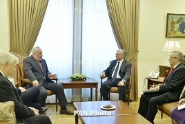 Armenia's Nalbandian, OSCE envoys to discuss Karabakh in Moscow
