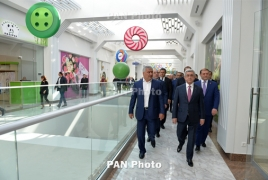 Exotic animals coming to brand-new shopping center in Armenia's capital