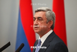 Armenian, Russian presidents to meet in Moscow on November 15