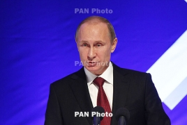 Putin hails Armenian church as one of the world's oldest spiritual centers