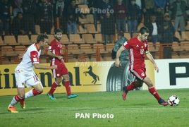 Armenia's Henrikh Mkhitaryan among Man United's 11 int'l record-holders