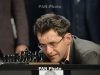 Armenia's Levon Aronian taking part in FIDE Grand Prix final tournament