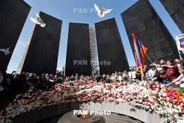 Dutch Senate president pays tribute to Armenian Genocide victims
