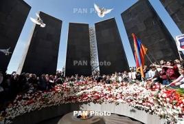 Dutch Senate president pays tribute to Armenian Genocide victims
