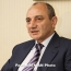 Karabakh president visits Paris ahead of annual fundraising telethon