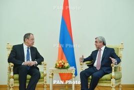 Lavrov visiting Armenia to discuss bilateral ties, Karabakh conflict