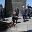 Lavrov pays tribute to 1.5 million Armenian Genocide victims