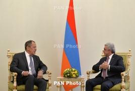 Саргсян: Армяно-российские отношения подлинно союзнические