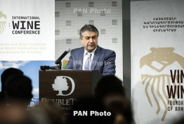 7.5 mln liters of wine produced in Armenia in 2016: PM Karapetyan