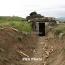 Тело азербайджанского военнослужащего найдено близ одной из армянских боевых позиций