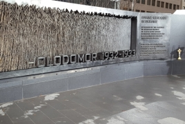 Armenian National Committee of Canada marks Holodomor 84th anniv.