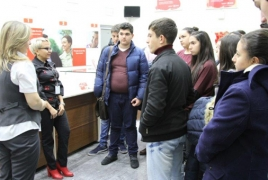 VivaCell-MTS hosts Armenian students in Yerevan HQ