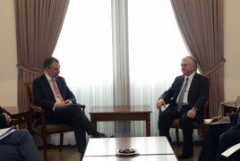 Спецпредставитель ЕС подтвердил содействие ЕС усилиям МГ ОБСЕ по карабахскому урегулированию