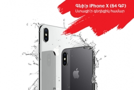 iPhone X hits the shelves of VivaCell-MTS stores in Armenia