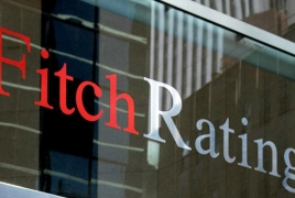 Fitch rates Armenia's ACBA-CREDIT AGRICOLE Bank bonds at 'B+'