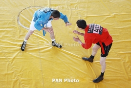 Armenian sambo wrestlers win four medals at European Championship