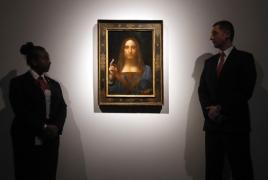 $450 mln da Vinci painting heads to Louvre Abu Dhabi