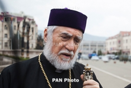 Armenian Catholicos rejects Jerusalem as Israeli capital