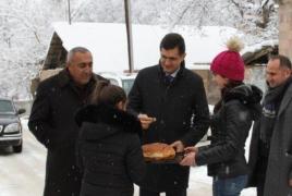 Rural Armenia's eco-village network development project continues
