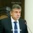 Armenia PM wants new