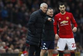 Mourinho says Mkhitaryan may be